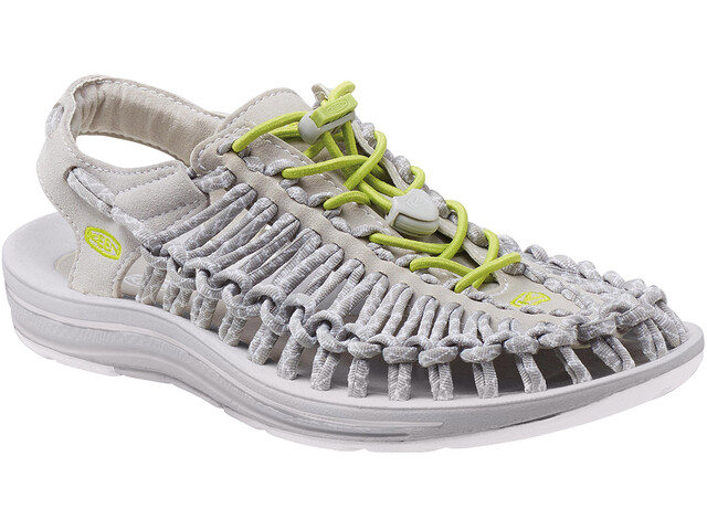 Keen W's Uneek 8mm Rock Shoes Vapor/Chartreus